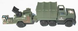 Vintage 1978 Tonka US Army Truck Canopy Trailer Control Station NEAR MINT - $43.46