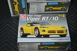 Mopar 1/25 AMT / Ertl #6550 1995 Dodge Viper RT/10 Plastic Model Kit Lev... - $9.49