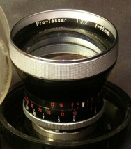 Carl Zeiss Pro-Tessar Lens f=85mm with fitted Zeiss Ikon Case AA-192031 Vintage image 2