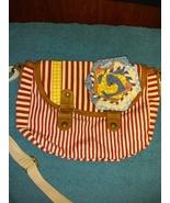 American Rag cotton crossbody shoulder bag striped - $16.00