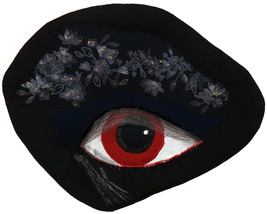 Night Vision: Quilted Art Wall Hanging - $225.00
