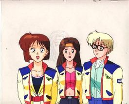 "Ashita e Free Kick ""Mizuho/Mirei/Roberto"" Anime Cel (0199) - $5.00"