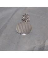 Hans Jensen Whale Mark Denmark Silver Plate Stripe Engine Engraved Purse... - $20.00