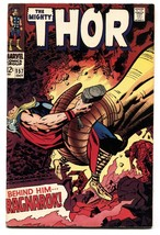 THOR #157-1968-JACK KIRBY-MARVEL-SILVER AGE FN+ - $63.05