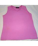 Womens Sonoma Pink Sleeveless Tank Top  Size 1X - $3.95