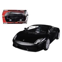 Lamborghini Gallardo LP-560-4 Matt Black 1/24 Diecast Car Model by Motor... - $29.91