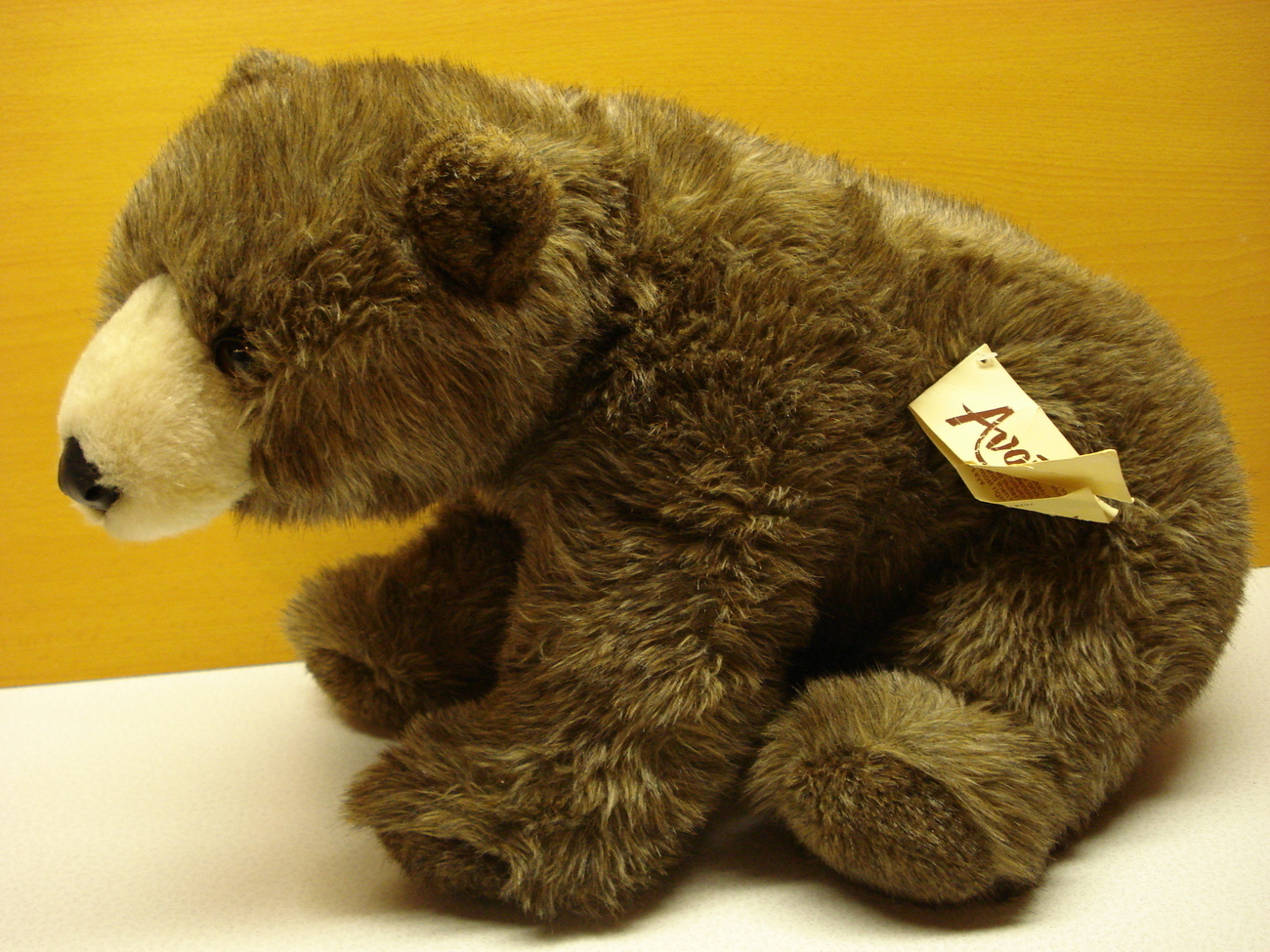 Avanti Collector Grizzly Bear collectors Brown Stuffed Plush teddy bear