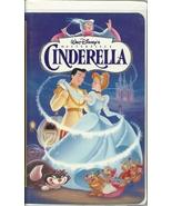 Walt Disney's Cinderella VHS Animated - $1.99