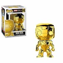 Funko Pop Marvel Marvel Studios 10 - Iron Man (Gold Chrome) Collectible Figure - $9.85