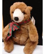 Avanti by Wallace Berrrie, Collectible Teddy Bear, brown bear plush - $29.39