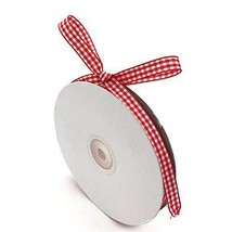 """VGoodall Red Gingham Ribbon, 3/8"""" x 50Yd Picnic Craft Ribbon, Great for ... - $10.05"""