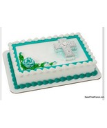 Baptism Cross Cake Decoration Party Supplies TOPPER KIT Christening Reli... - $9.85