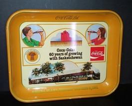 Coca-Cola Tray 1981 Regina Saskatchewan RARE - $200.00