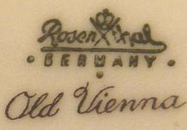 Backstamp rosental germany old vienna thumb200