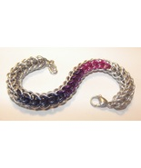 Full Persian Pride Chainmaille Bracelet - $30.00