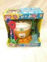 Little Tikes Bubblin Activity Bucket RARE Bubble Playset Spill Resistant... - $29.69
