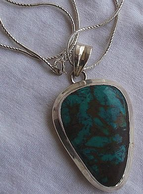 Eilat silver pendant