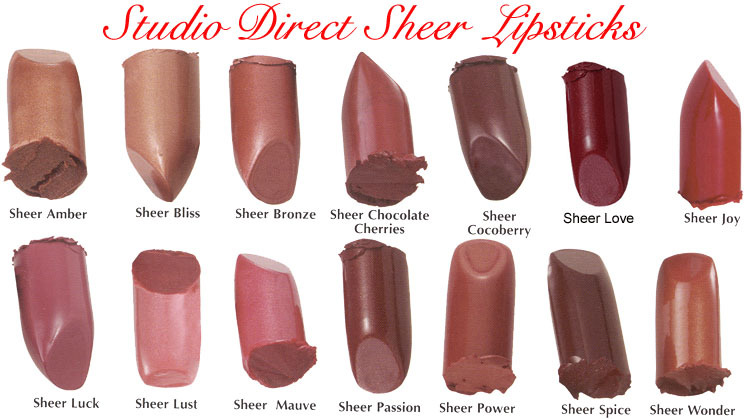 ONE SHEER LIPSTICK W LOTS OF SHINE & A HINT OF COLOR NEW