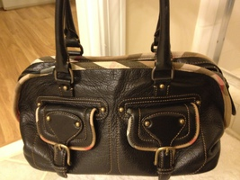 Authentic Burberry handbag - $120.00