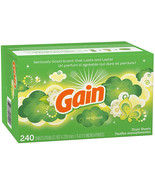Gain Dryer Sheets, Original, 240 Count (Packaging May Vary) - $12.99