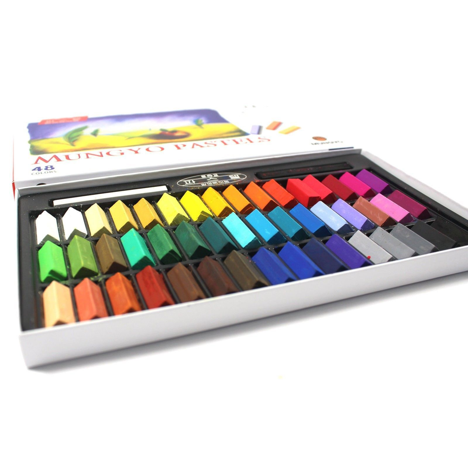 11 Pastel Paint Colors: Art Mungyo Soft Square Chalk Drawing Set Colors Pastels Color 48 Pastel Painting