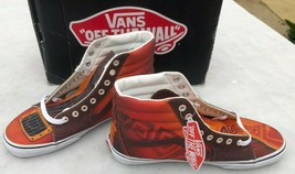 Vans Off the Wall Sk8-Hi Custom Culture Brown Size 9.5 Sneakers New  Box... - $79.17