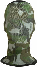 Spandoflage Head Net Green Camo Netting Face Hiding Cover Protection USA... - $18.99