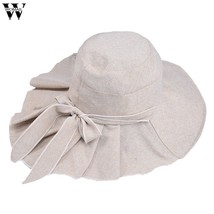 Womail  Hat 1PC  Cap Women Ladies Women Casual Solid Wide Brimmed Floppy... - $11.35
