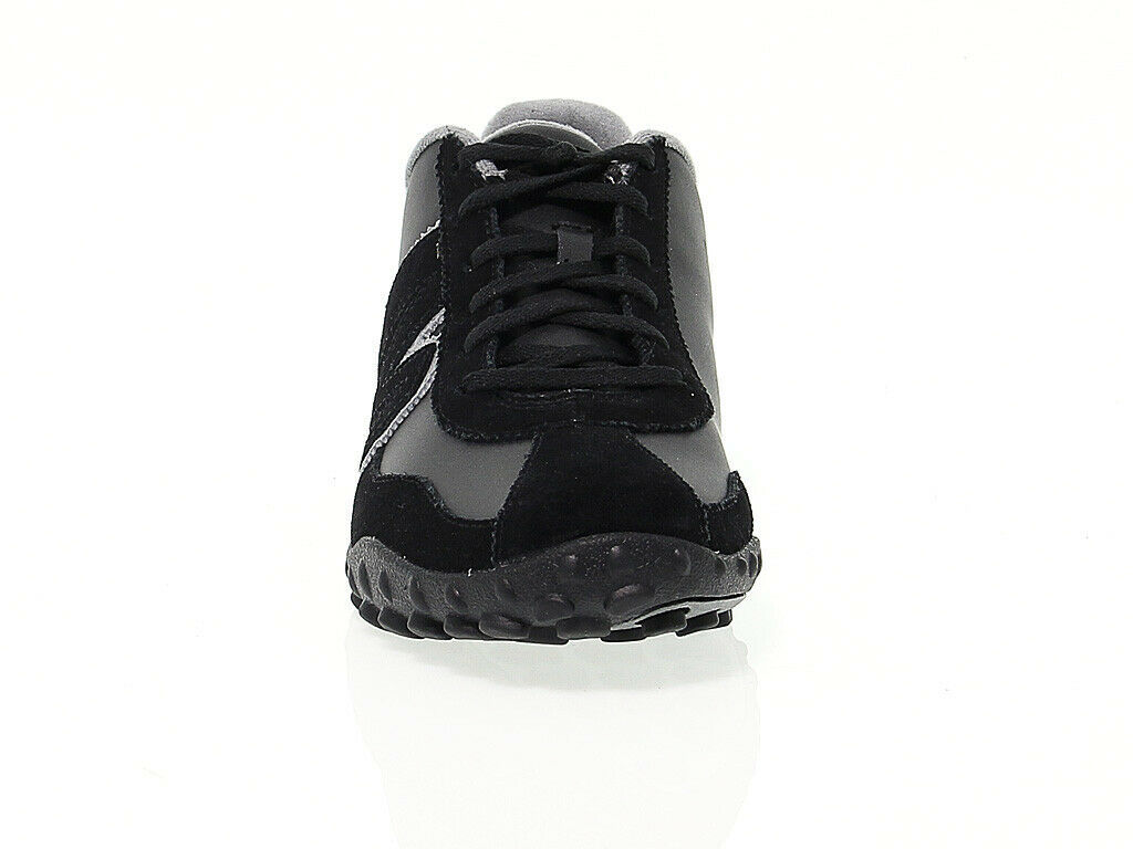 Sneakers MERRELL 0023 in black leather - Men's Shoes
