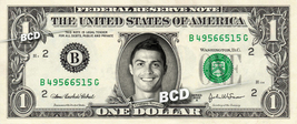 Cristiano Ronaldo On Real Dollar Bill Cash Money Collectible Celebrity Bank Note - $8.88