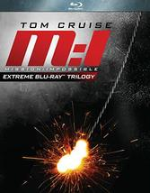 Mission: Impossible 1 - 3: Extreme Trilogy [Blu-ray]