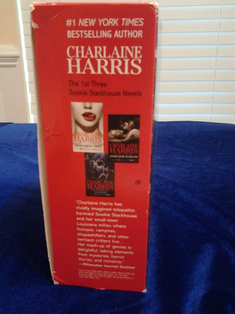 Charlaine Harris,  Sookie Stackhouse Novels 3 piece set, Mint, Free Freight