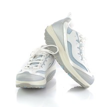 Skechers Shape Ups Women Walking Toning Sneakers Shoes White Silver Size... - $44.37