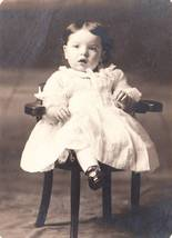 Photo little girl white dress black shoes 3 thumb200