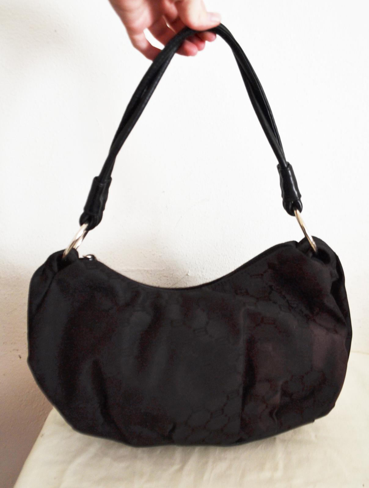 bcc9c2b3fff Signature Cato Purse Black Nylon Leather Shoulder Bag -  24.99