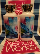 NEW Secret Wonderland Bath and Body Works Set of 2 Body Lotions 8 fl oz BBW - $19.99