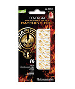 Covergirl Catching Fire Capitol Collection Nail Art Stickers - 100 Flame... - $11.99