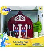 Breyer Stablemates Friendship Foals Pocket Barn Horse Toy | 4 Piece Play... - $21.70