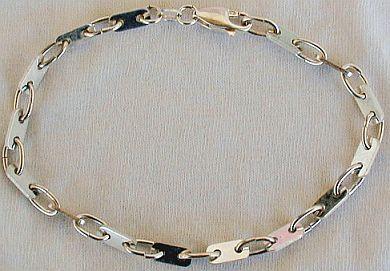 Bracelet silver parts