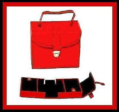 Jewelry organizer red1 sharp