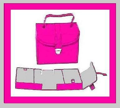 Jewelry organizer pink2 sharp