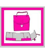 Jewelry Case Box PINK Leather & GRAY Suede Many Compartments - $29.99
