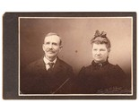 Card photo older couple man with moustache woman with bow thumb155 crop