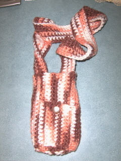 Water Bottle Carrier With Pocket Crochet Sports Walking