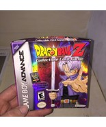 DRAGONBALL Z COLLECTIBLE CARD GAME GAMEBOY ADVANCE GAME GBA Complete - $28.05