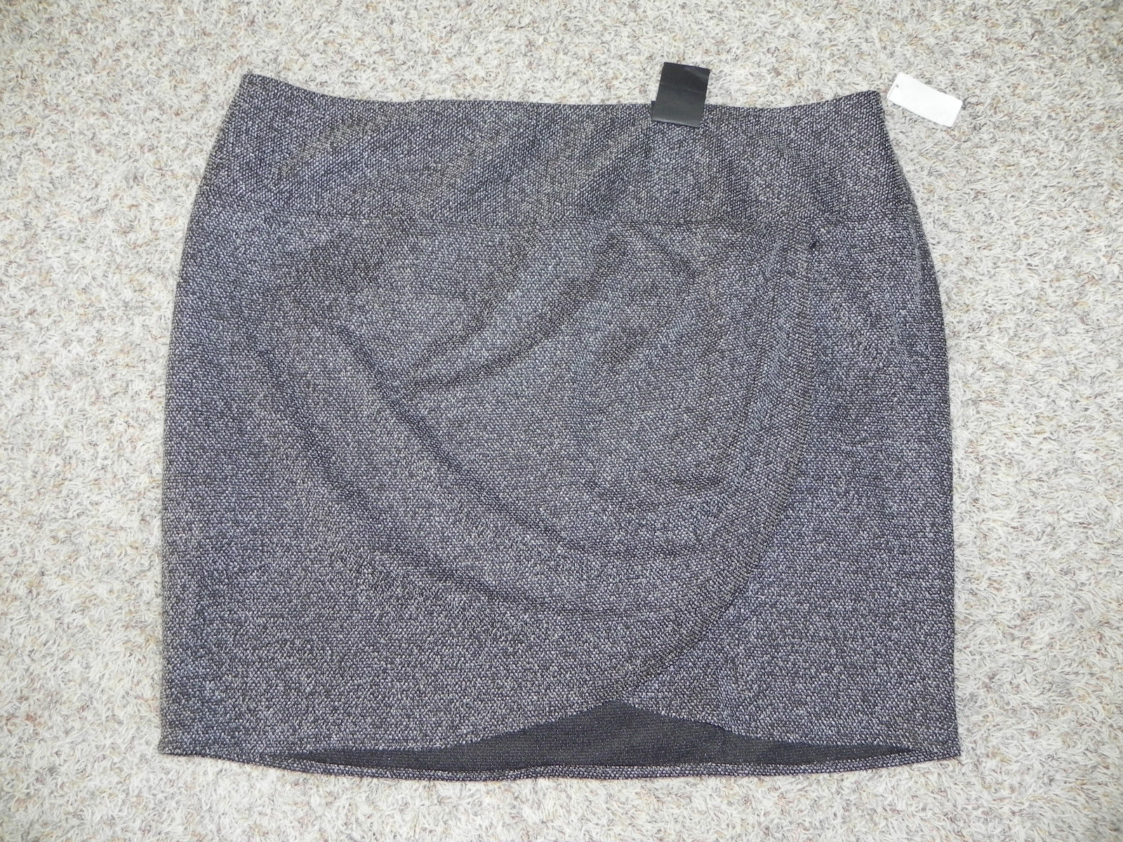 Primary image for Lane Bryant Skirt Plus Size 28 Black Multi-Color Length 23 inches NWT $49.95