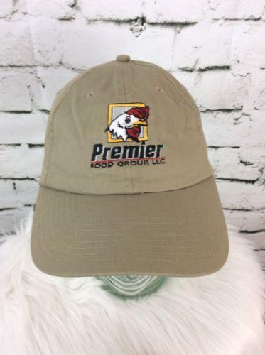 Premier Food Group Beige Hat Cap Strap Back Nike