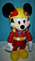 Disney Mickey And The Roadster Racers, Racing Adventures Mickey PLUSH DO... - $14.50