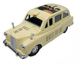 "MEW IN ORIGINAL PACKAGING THE ""BEATLES FOR SALE"" DIE - CAST  TAXI SET 2 - $29.99"
