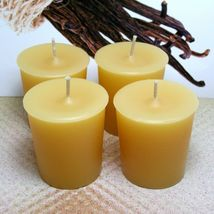 Vanilla Bean PURE SOY Votives (Set of 4) - $7.00